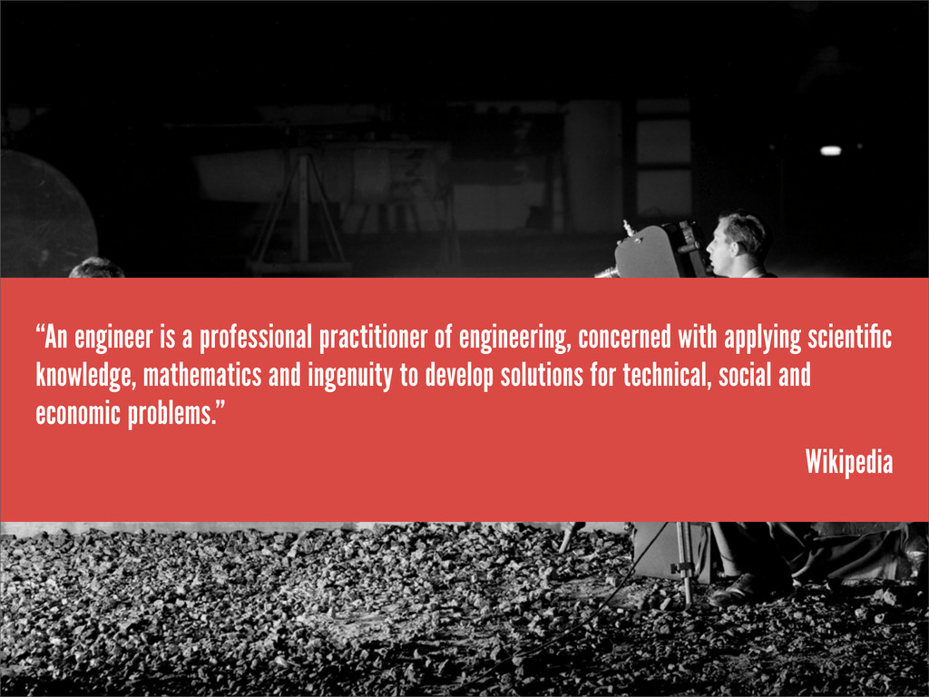 """An engineer is a professional practitioner of ..."