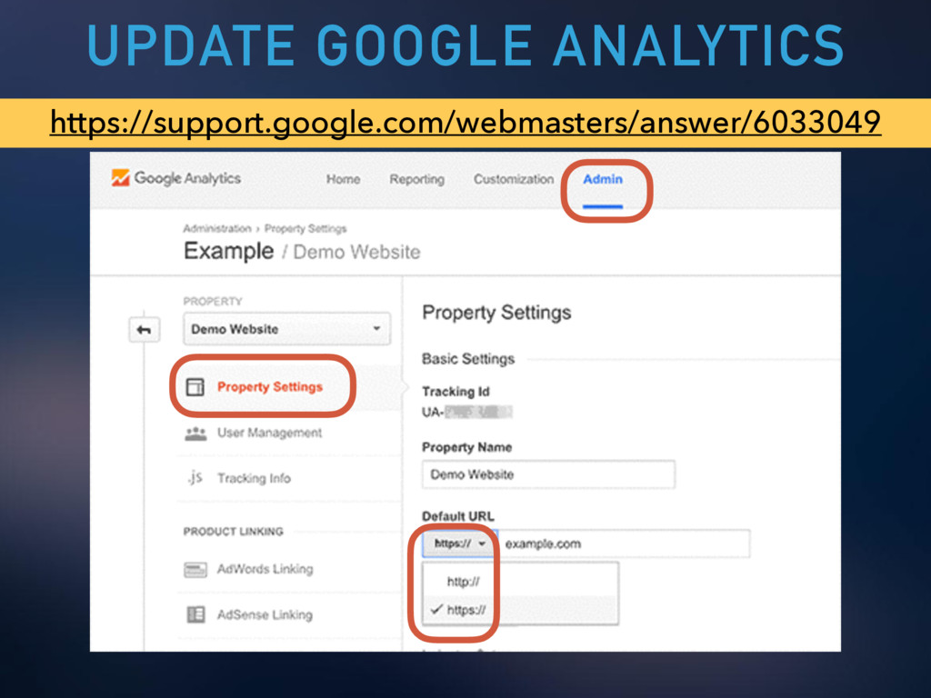 UPDATE GOOGLE ANALYTICS https://support.google....
