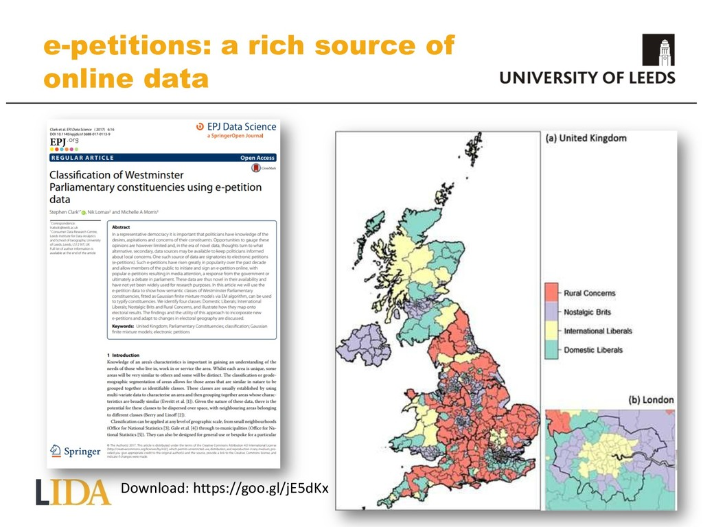 e-petitions: a rich source of online data Downl...