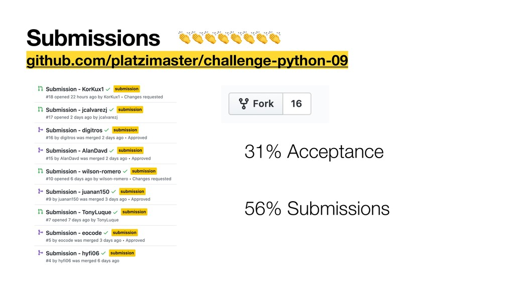 Submissions github.com/platzimaster/challenge-p...