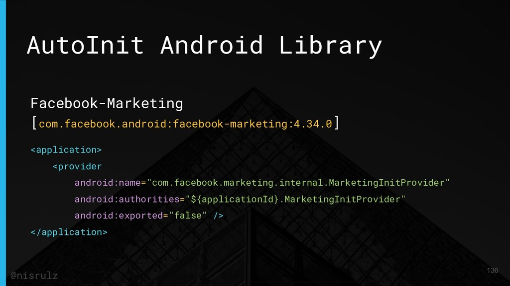 AutoInit Android Library Facebook-Marketing [co...