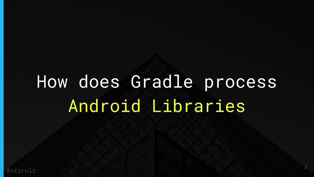 How does Gradle process Android Libraries @nisr...