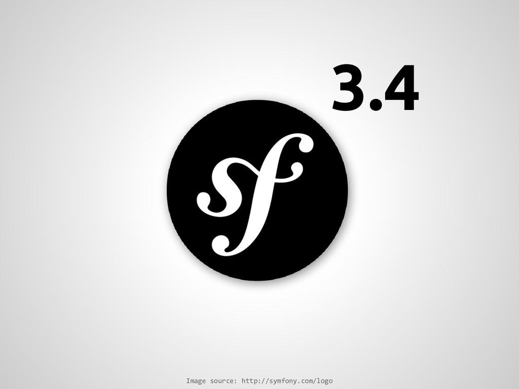 Image source: http://symfony.com/logo 3.4