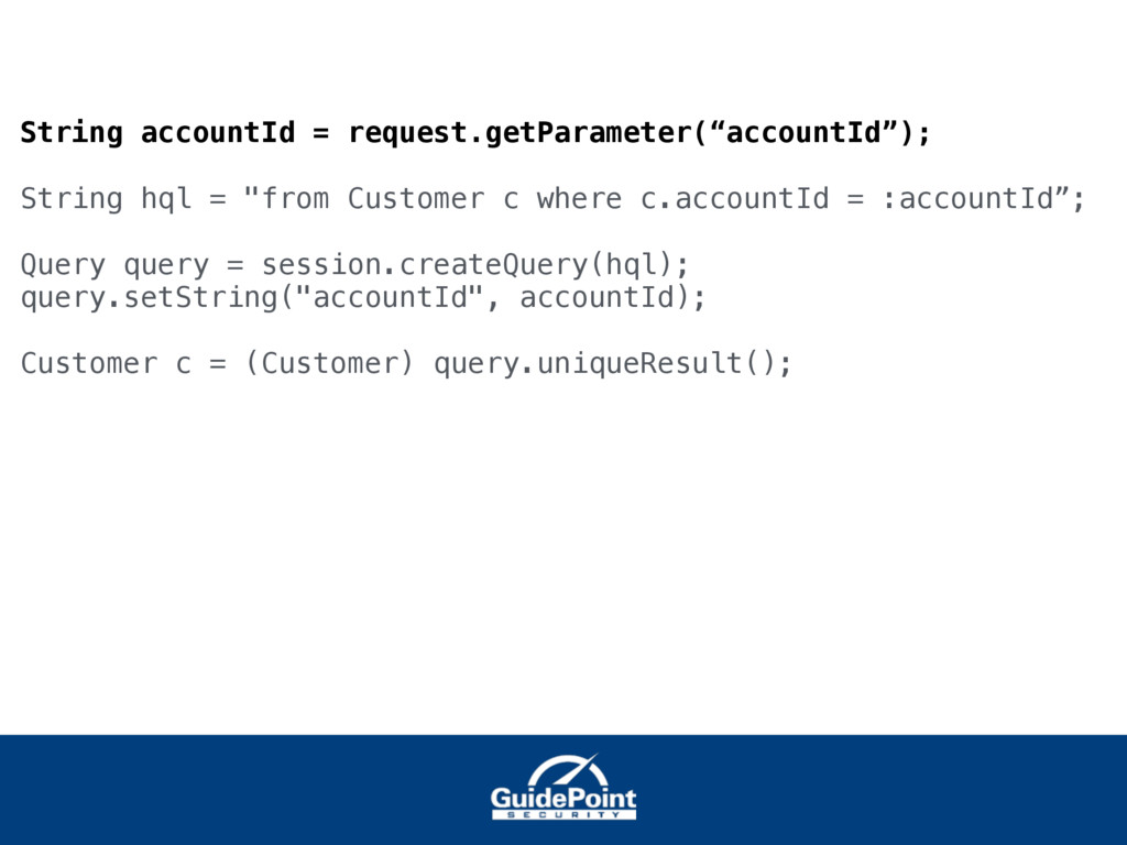 """String accountId = request.getParameter(""""accoun..."""