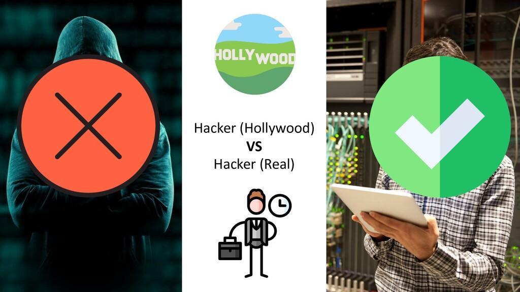 Hacker (Hollywood) VS Hacker (Real)