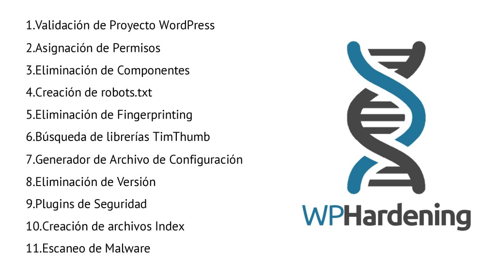 1.Validación de Proyecto WordPress 2.Asignación...