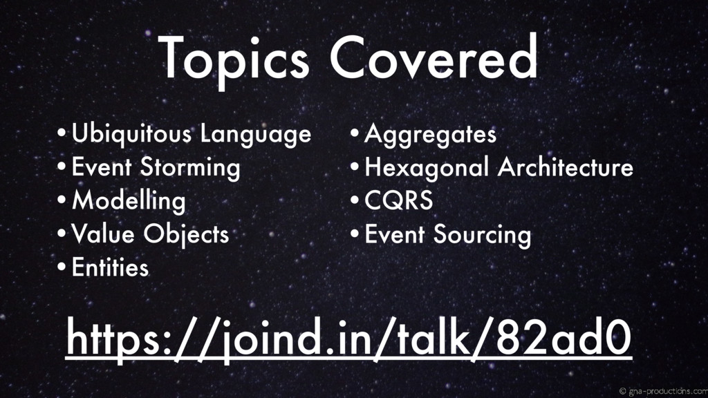 https://joind.in/talk/82ad0 Topics Covered •Ubi...