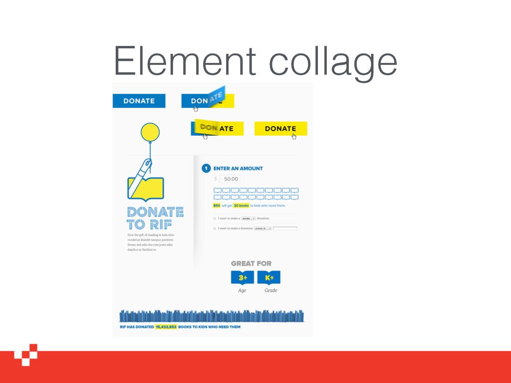 Element collage