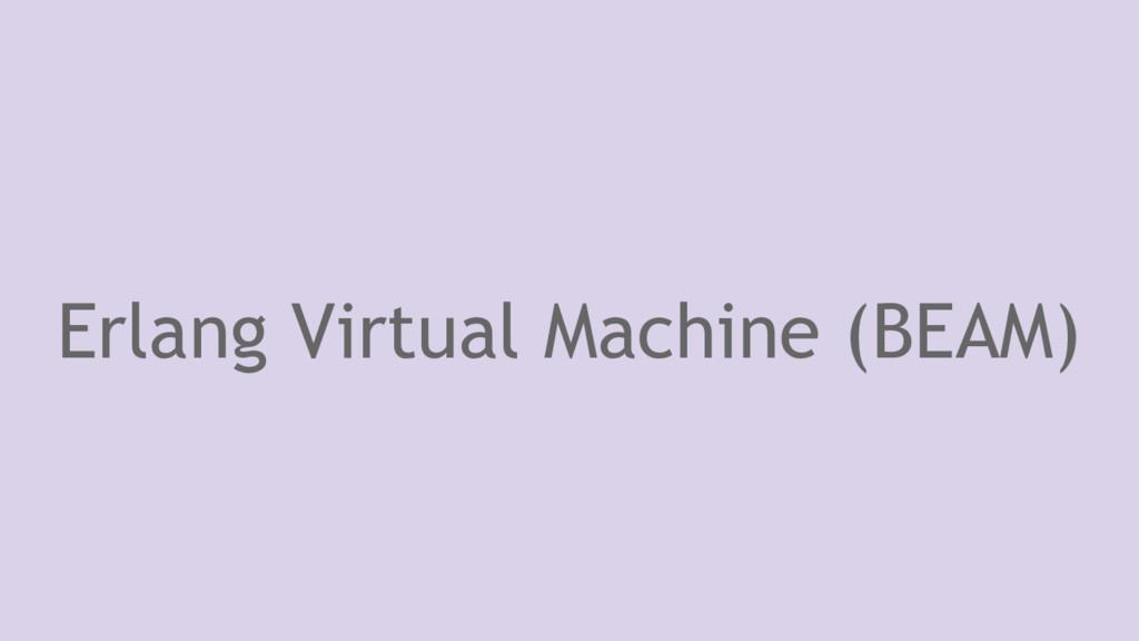 Erlang Virtual Machine (BEAM)