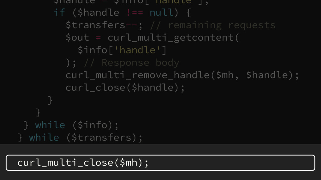 $handle = $info['handle']; if ($handle !== null...