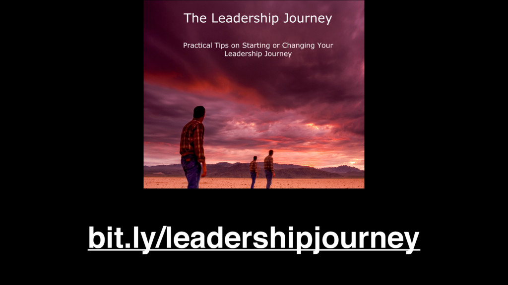 bit.ly/leadershipjourney