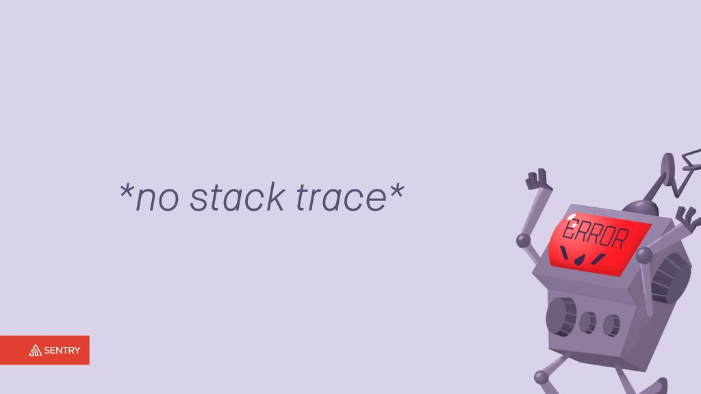 *no stack trace*