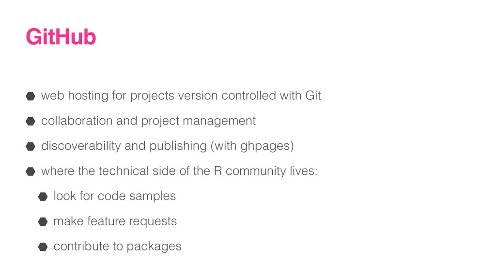 GitHub web hosting for projects version control...