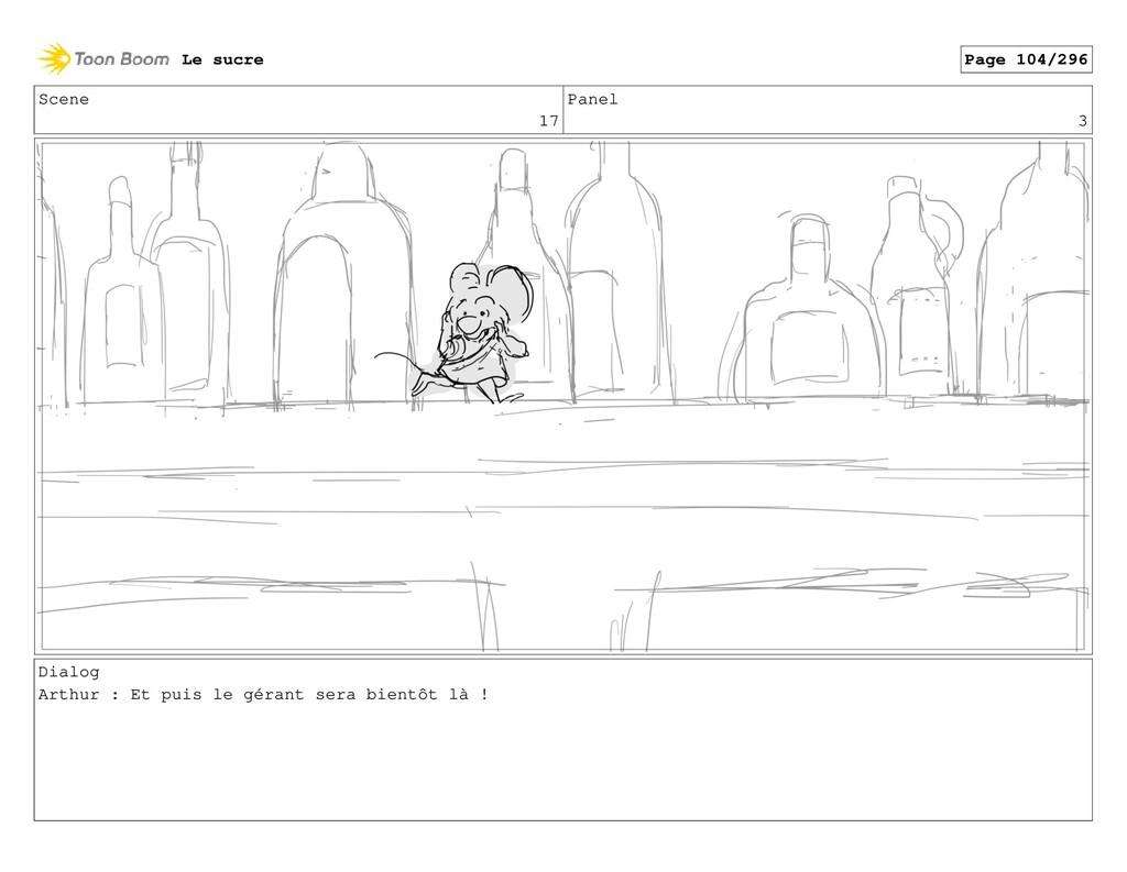 Scene 17 Panel 3 Dialog Arthur : Et puis le gér...