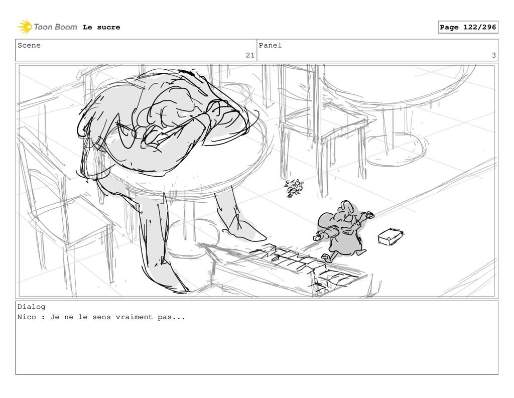 Scene 21 Panel 3 Dialog Nico : Je ne le sens vr...