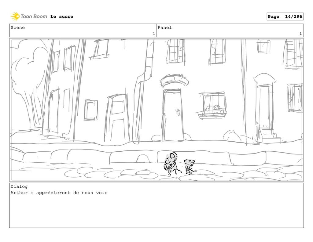 Scene 1 Panel 1 Dialog Arthur : apprécieront de...
