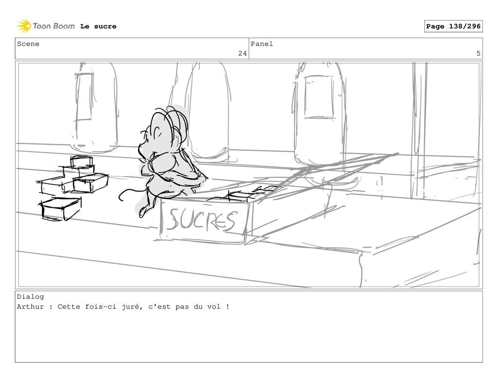 Scene 24 Panel 5 Dialog Arthur : Cette fois-ci ...