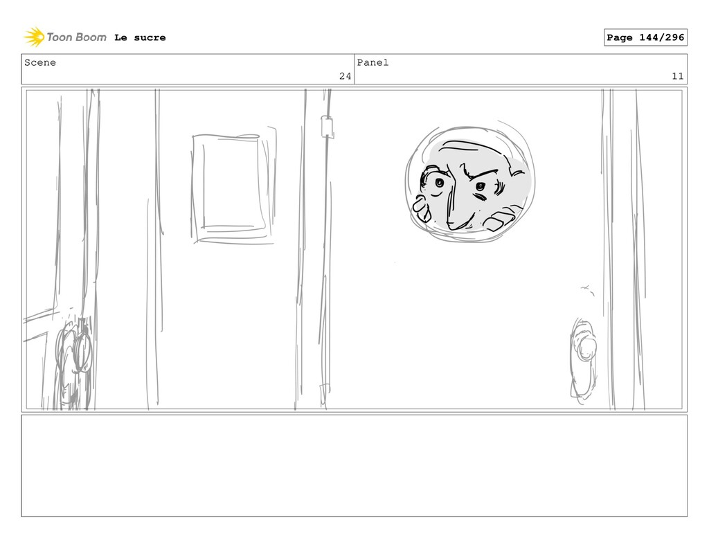 Scene 24 Panel 11 Le sucre Page 144/296