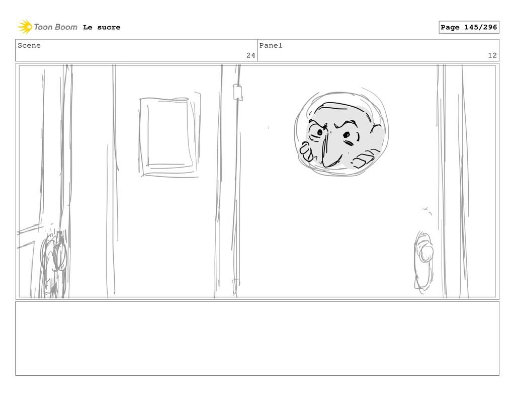 Scene 24 Panel 12 Le sucre Page 145/296