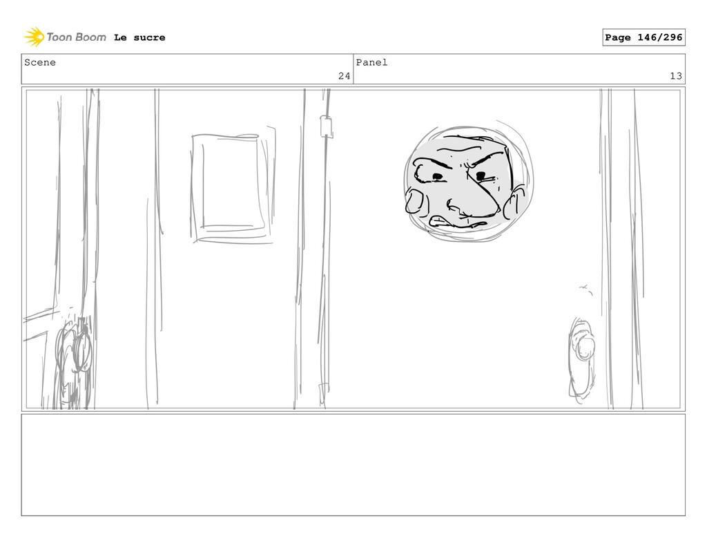 Scene 24 Panel 13 Le sucre Page 146/296