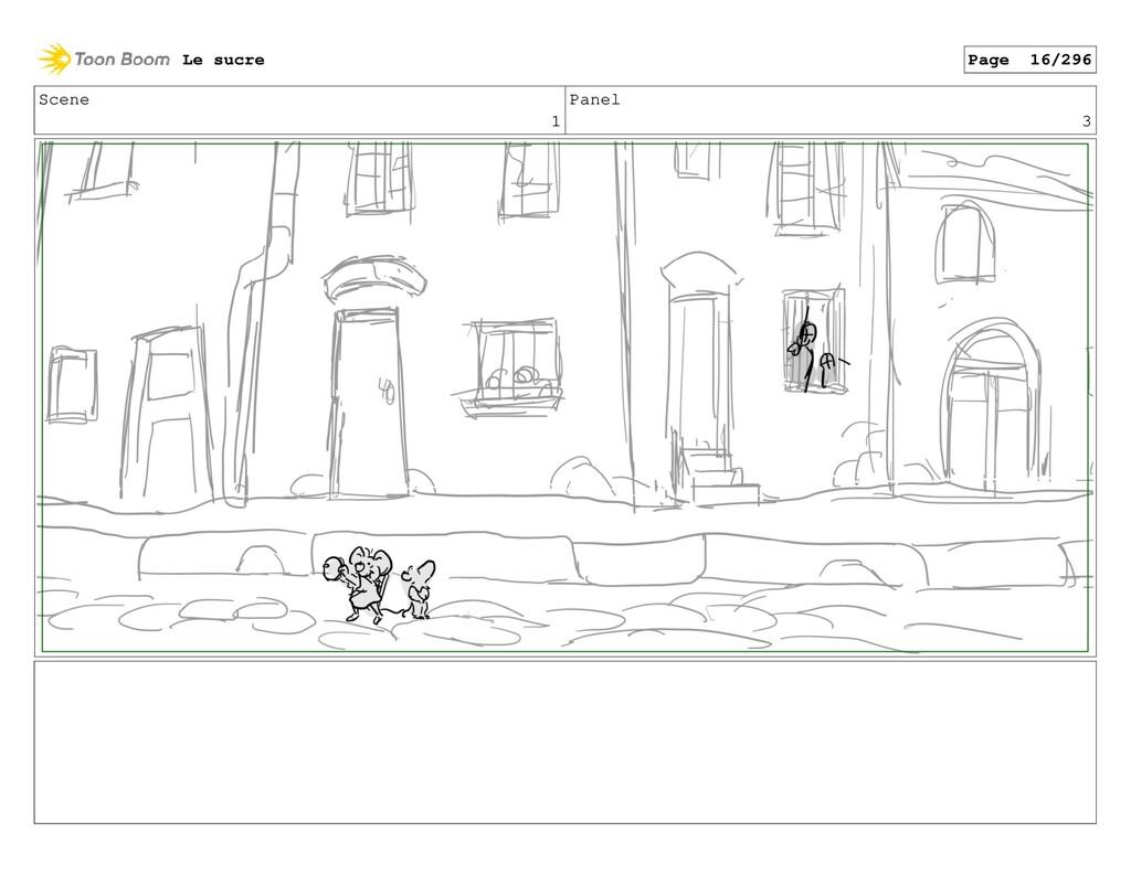 Scene 1 Panel 3 Le sucre Page 16/296