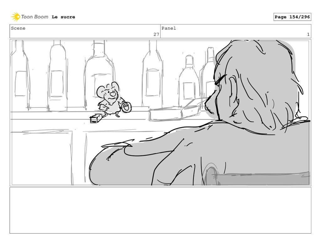 Scene 27 Panel 1 Le sucre Page 154/296