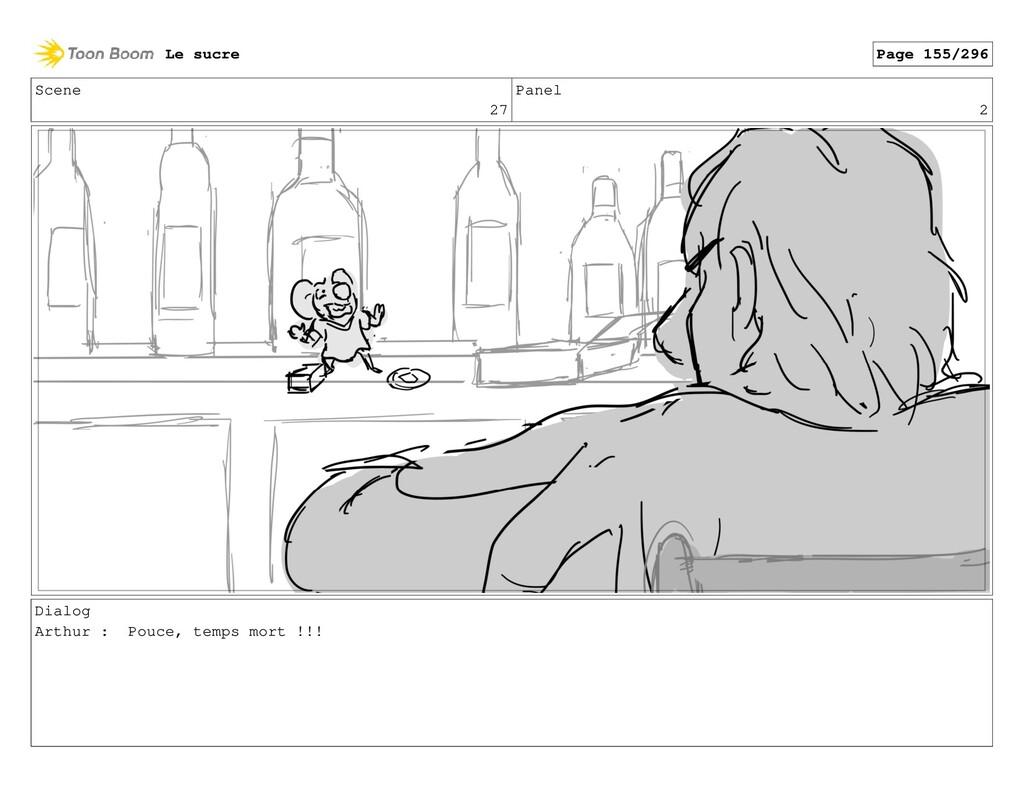Scene 27 Panel 2 Dialog Arthur : Pouce, temps m...