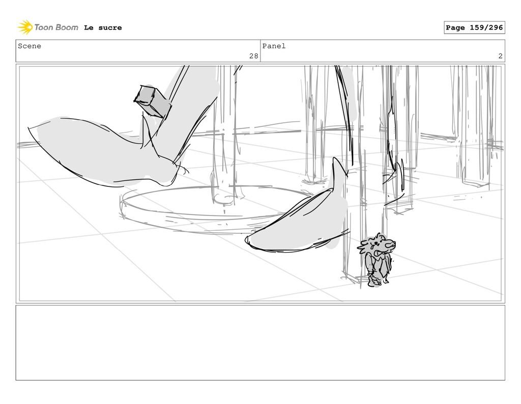 Scene 28 Panel 2 Le sucre Page 159/296