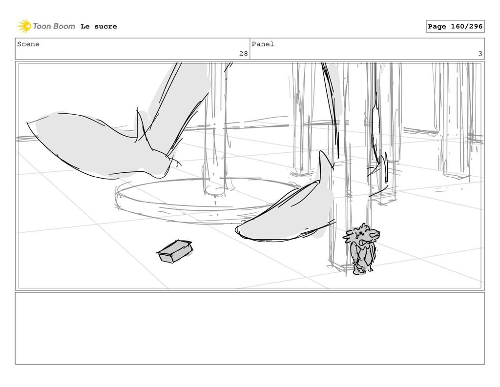 Scene 28 Panel 3 Le sucre Page 160/296