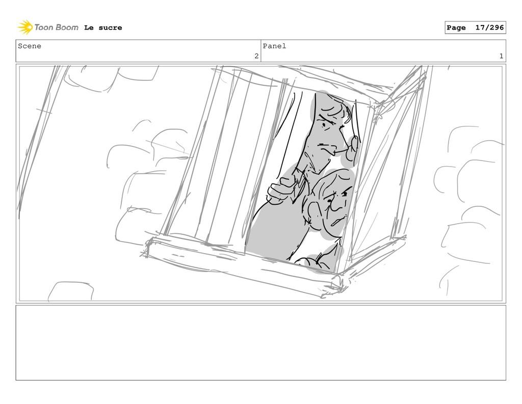 Scene 2 Panel 1 Le sucre Page 17/296