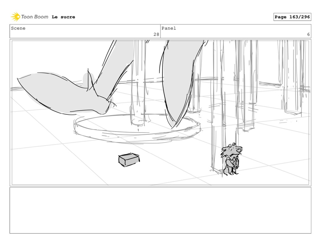 Scene 28 Panel 6 Le sucre Page 163/296
