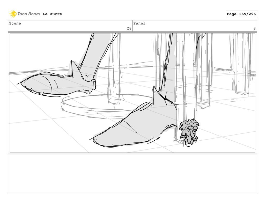 Scene 28 Panel 8 Le sucre Page 165/296