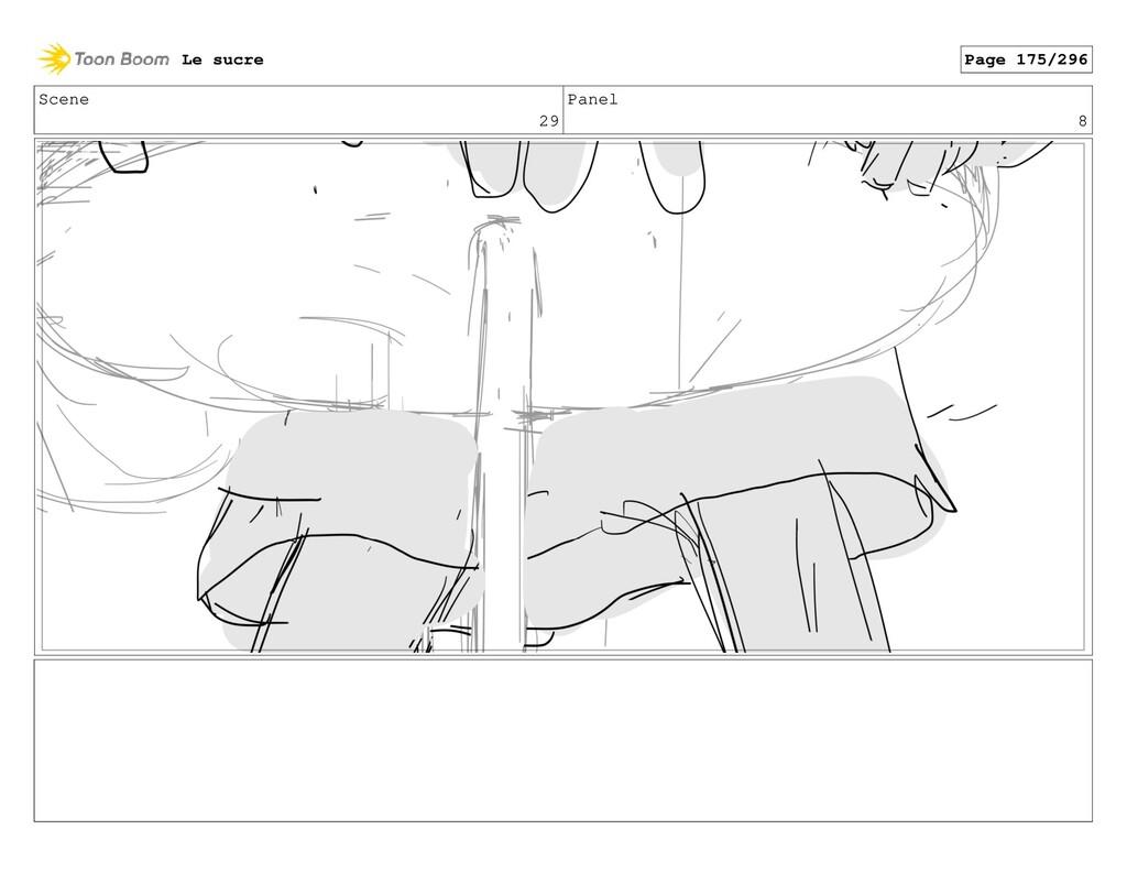 Scene 29 Panel 8 Le sucre Page 175/296