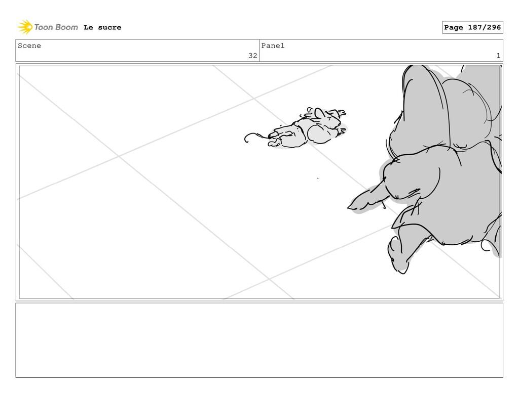 Scene 32 Panel 1 Le sucre Page 187/296