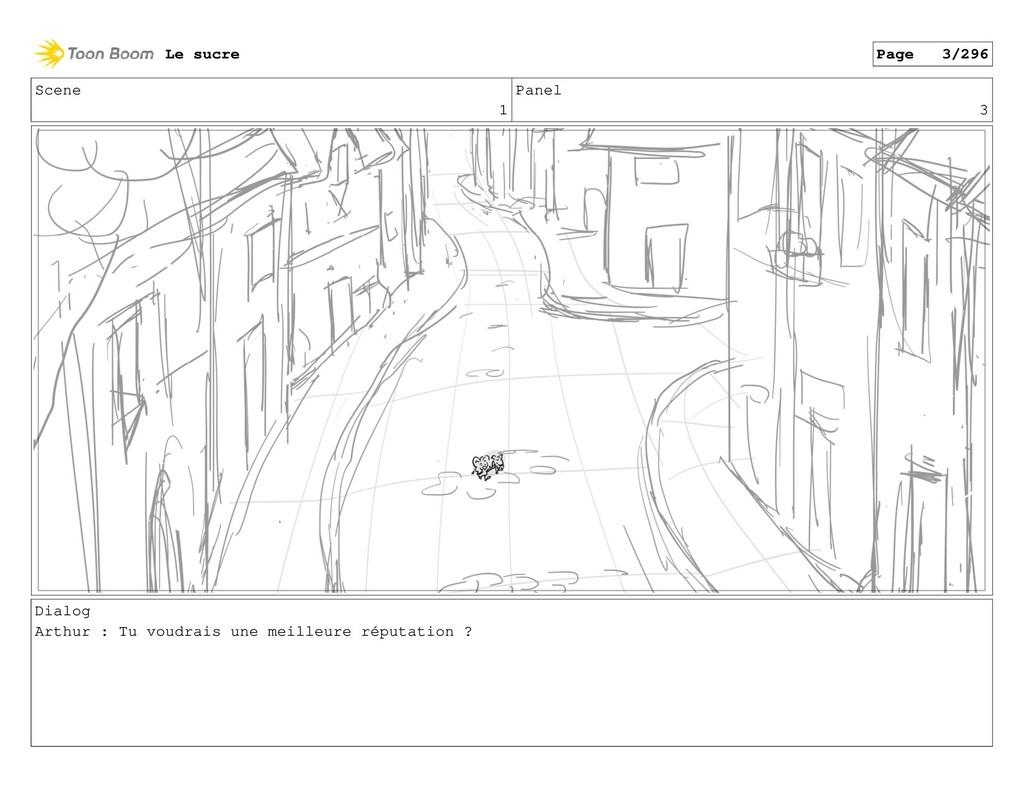 Scene 1 Panel 3 Dialog Arthur : Tu voudrais une...