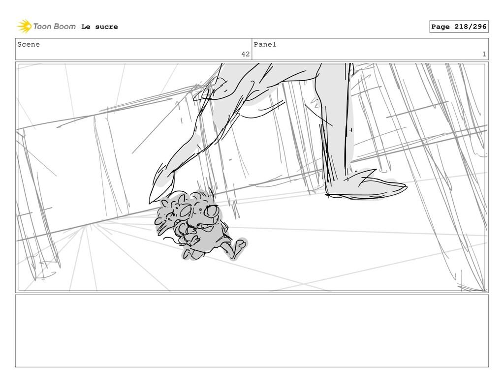 Scene 42 Panel 1 Le sucre Page 218/296