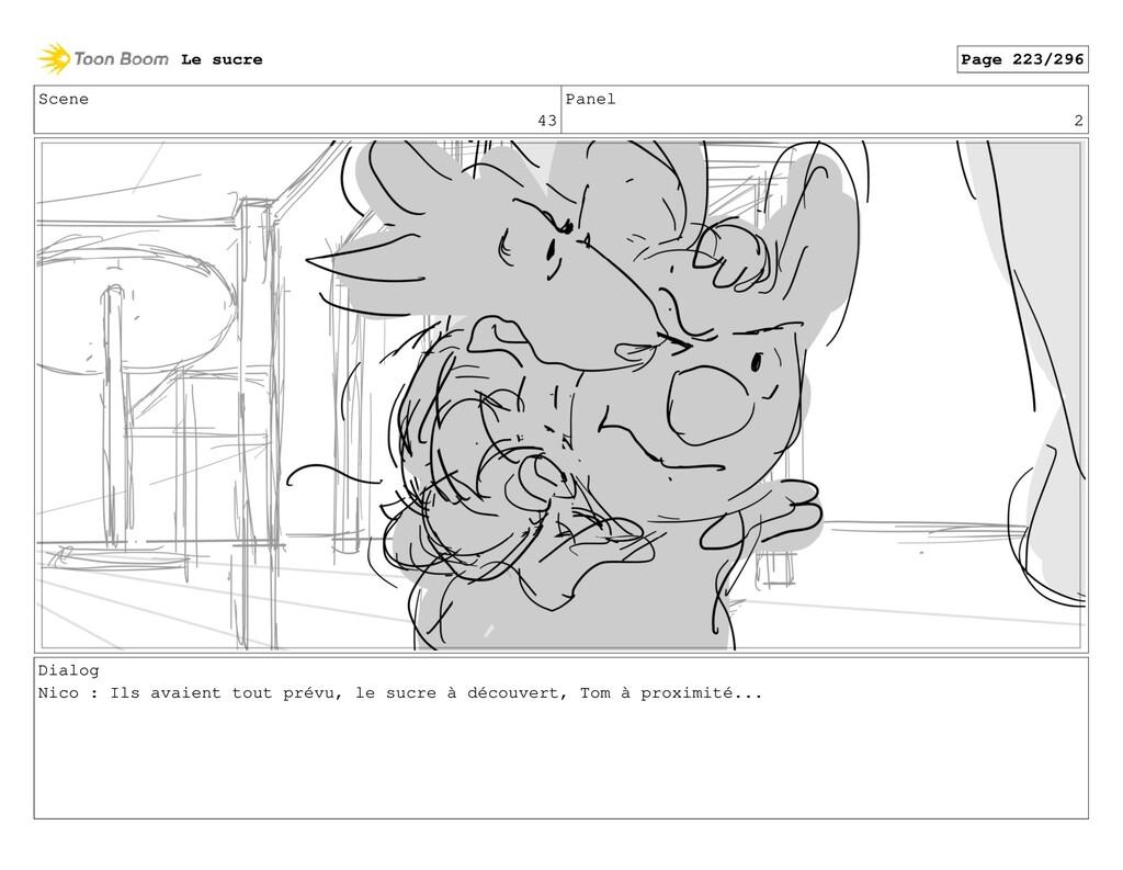 Scene 43 Panel 2 Dialog Nico : Ils avaient tout...