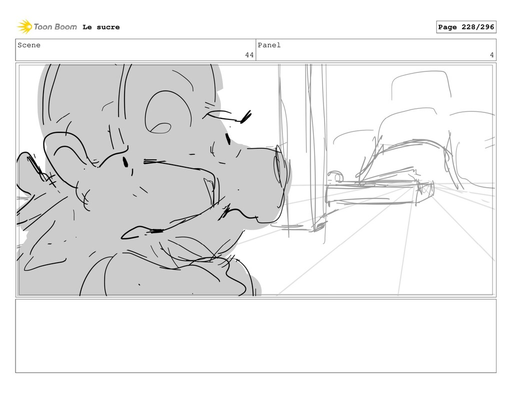 Scene 44 Panel 4 Le sucre Page 228/296