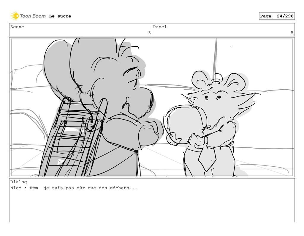Scene 3 Panel 5 Dialog Nico : Hmm je suis pas s...
