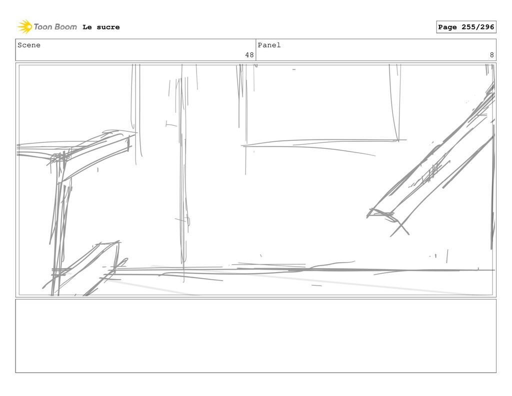 Scene 48 Panel 8 Le sucre Page 255/296