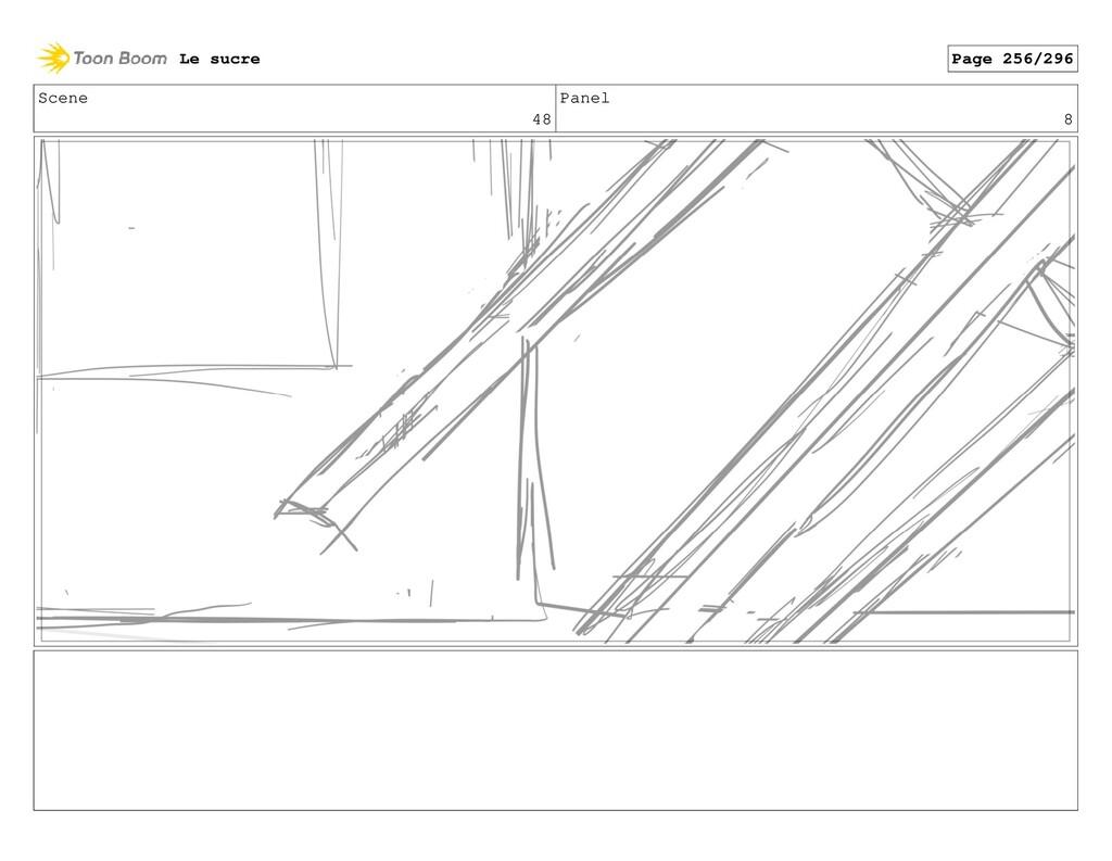 Scene 48 Panel 8 Le sucre Page 256/296