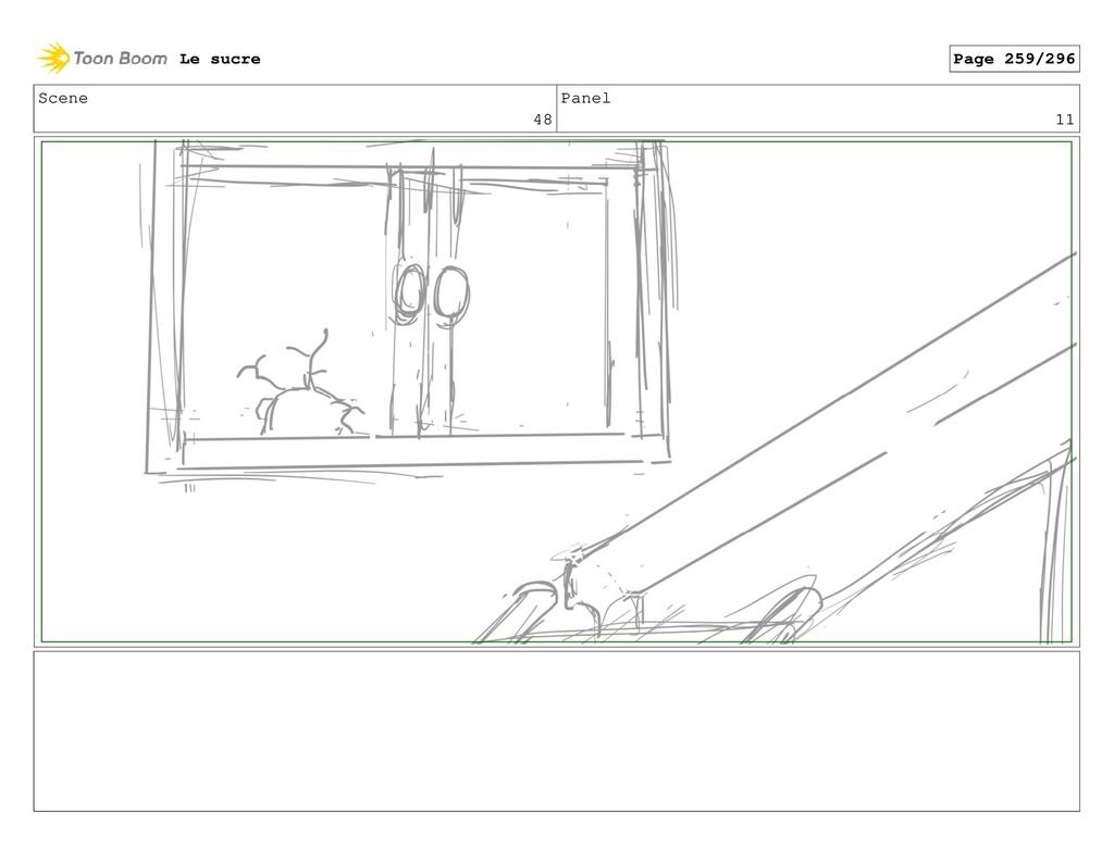Scene 48 Panel 11 Le sucre Page 259/296