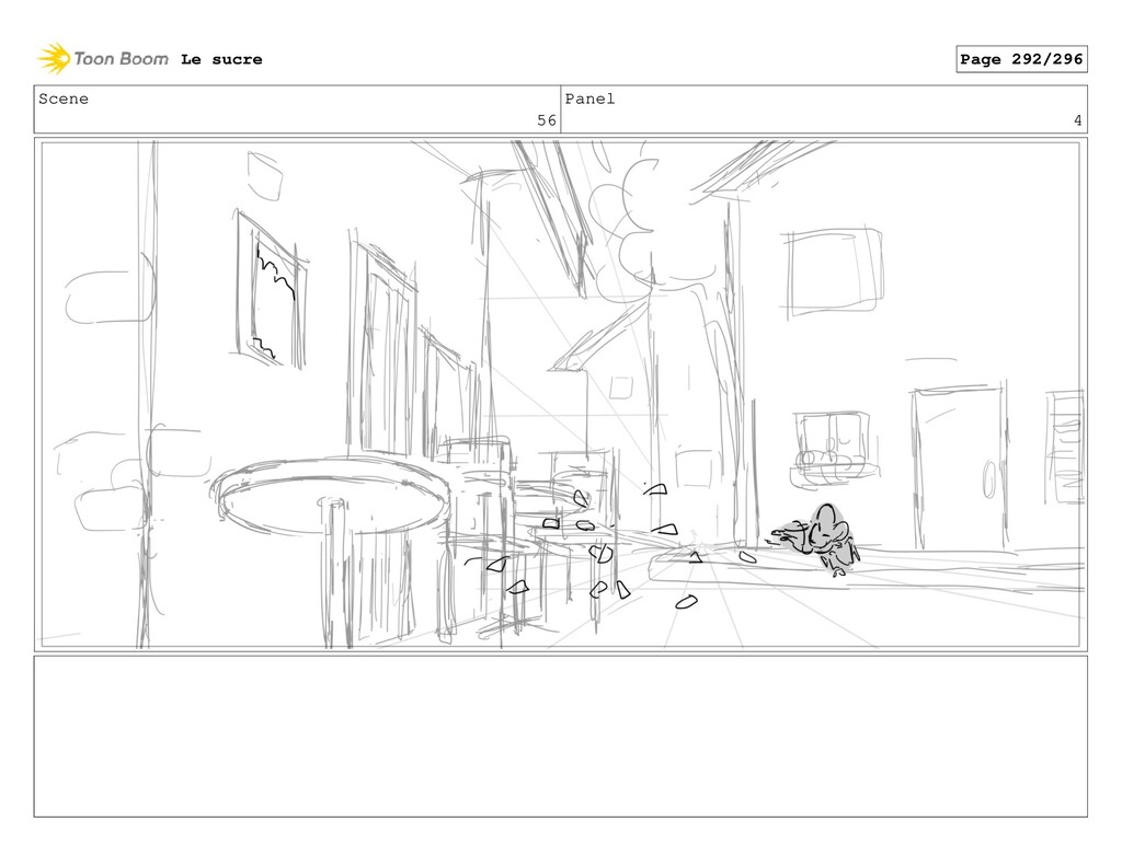 Scene 56 Panel 4 Le sucre Page 292/296