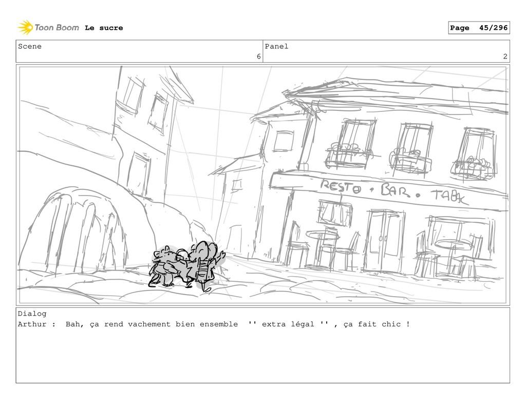 Scene 6 Panel 2 Dialog Arthur : Bah, ça rend va...