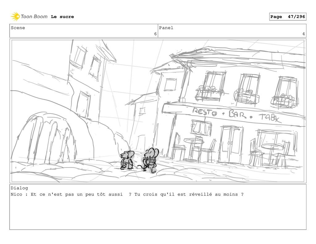 Scene 6 Panel 4 Dialog Nico : Et ce n'est pas u...