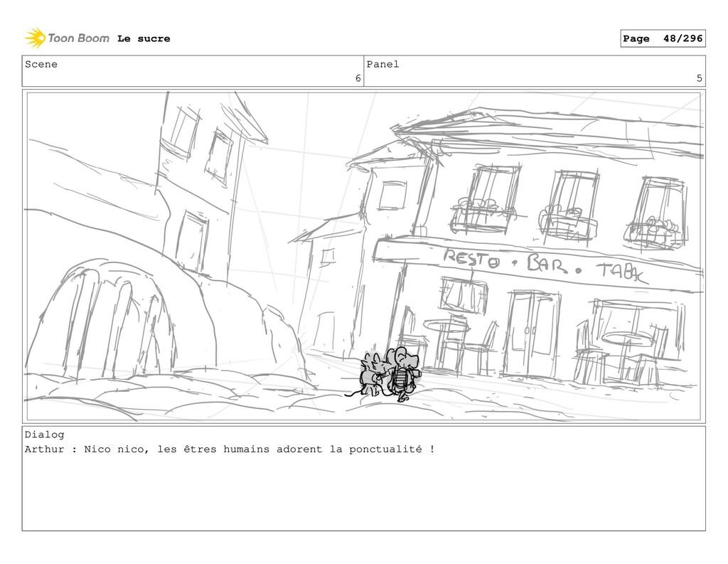 Scene 6 Panel 5 Dialog Arthur : Nico nico, les ...