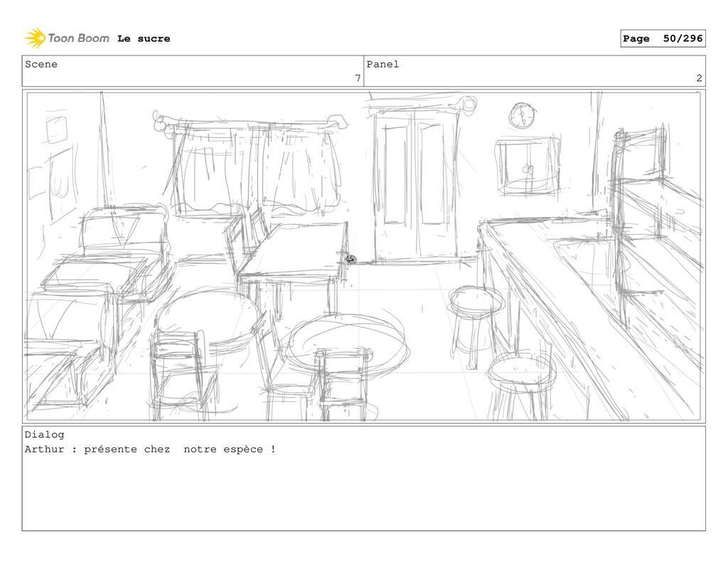Scene 7 Panel 2 Dialog Arthur : présente chez n...