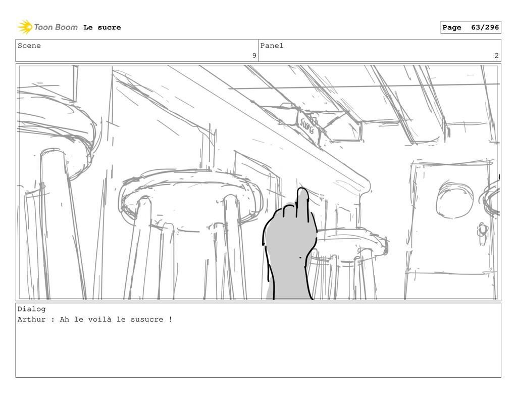 Scene 9 Panel 2 Dialog Arthur : Ah le voilà le ...