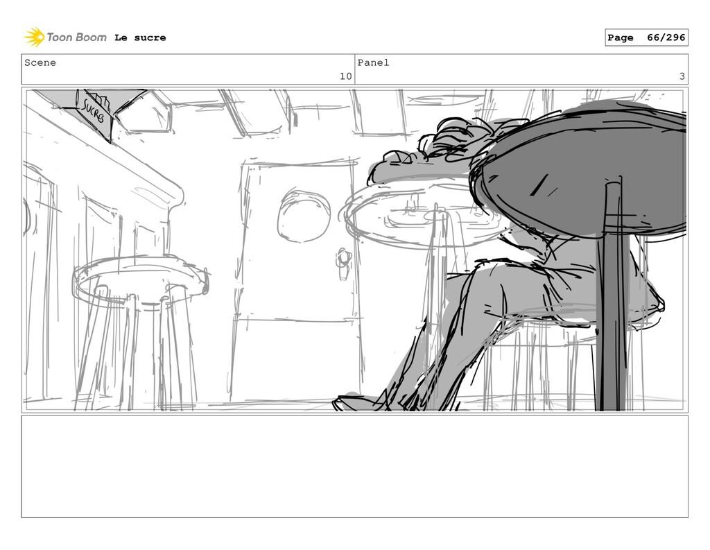 Scene 10 Panel 3 Le sucre Page 66/296