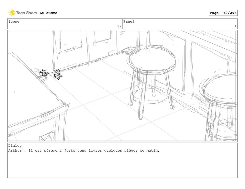 Scene 12 Panel 1 Dialog Arthur : Il est sûremen...